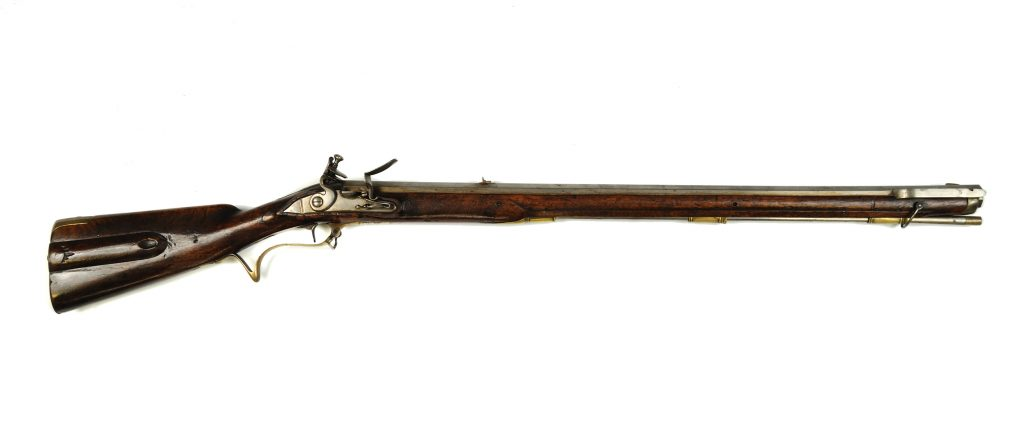 German jaeger military rifle, ca. 1770s