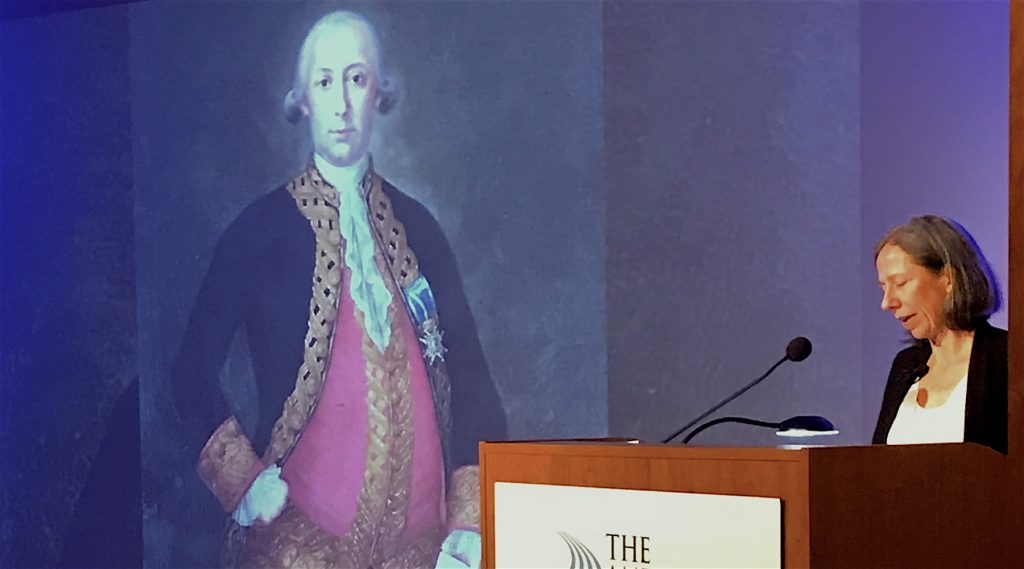 Kathleen DuVal gave the George Rogers Clark Lecture on the Revolution in the Spanish borderlands.