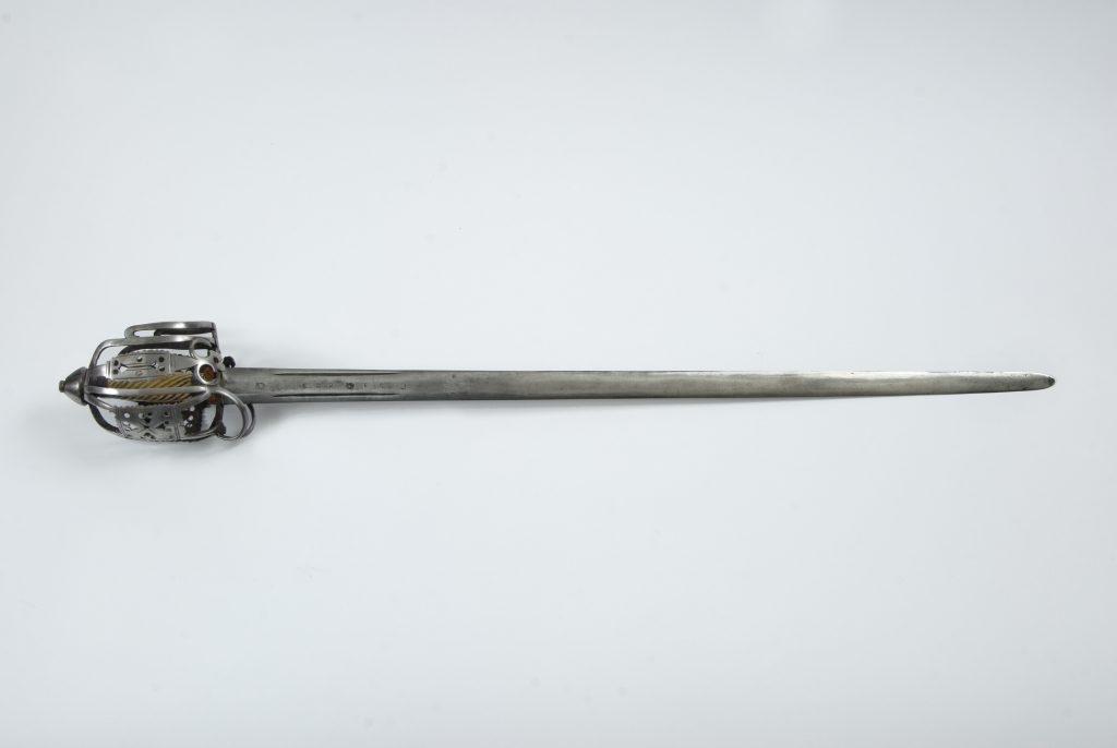 Nicholas Ruxton Moore Highland broadsword, ca. 1750-1780
