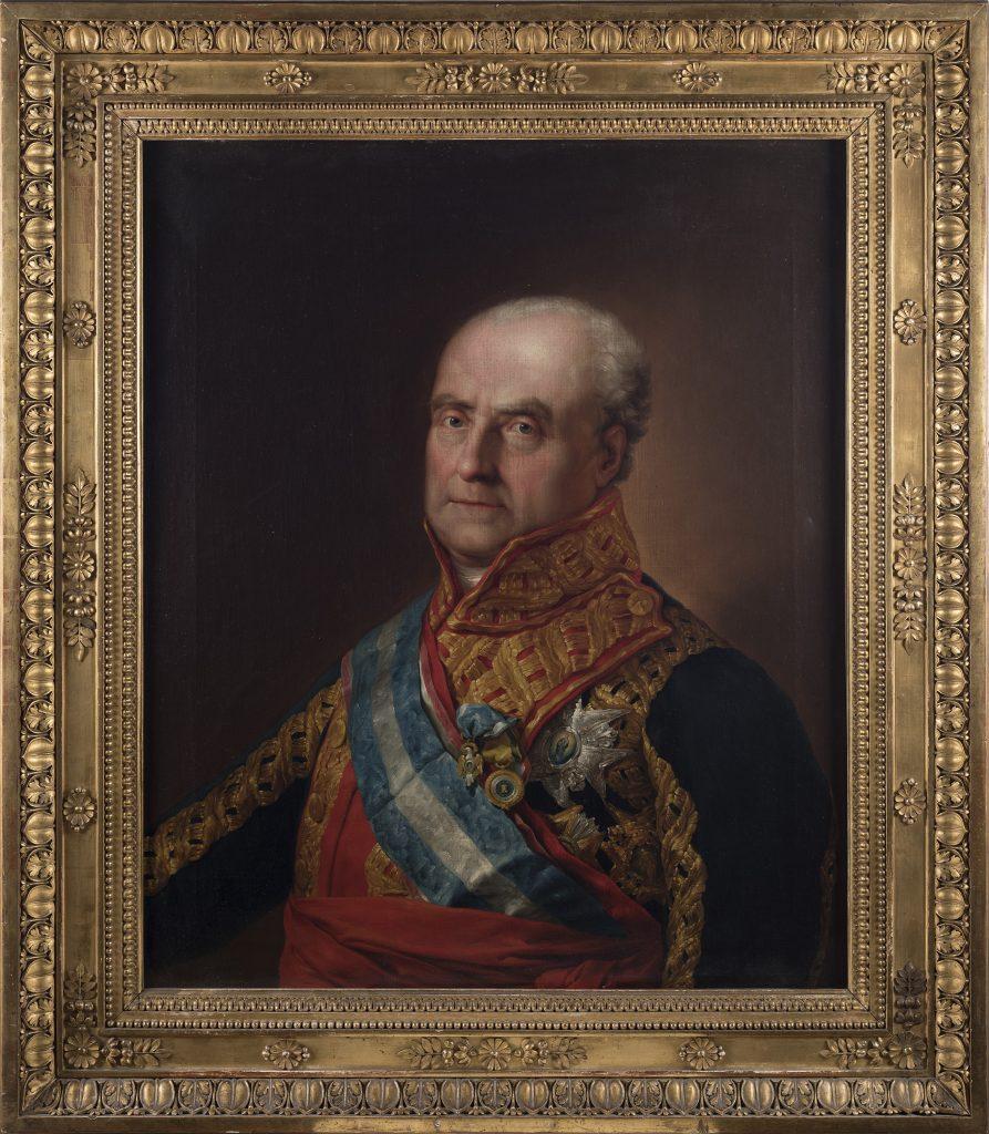 Portrait of Claude-Anne de Rouvroy, marquis de Saint-Simon-Montbléru by Vicente López y Portaña, ca. 1815-1818
