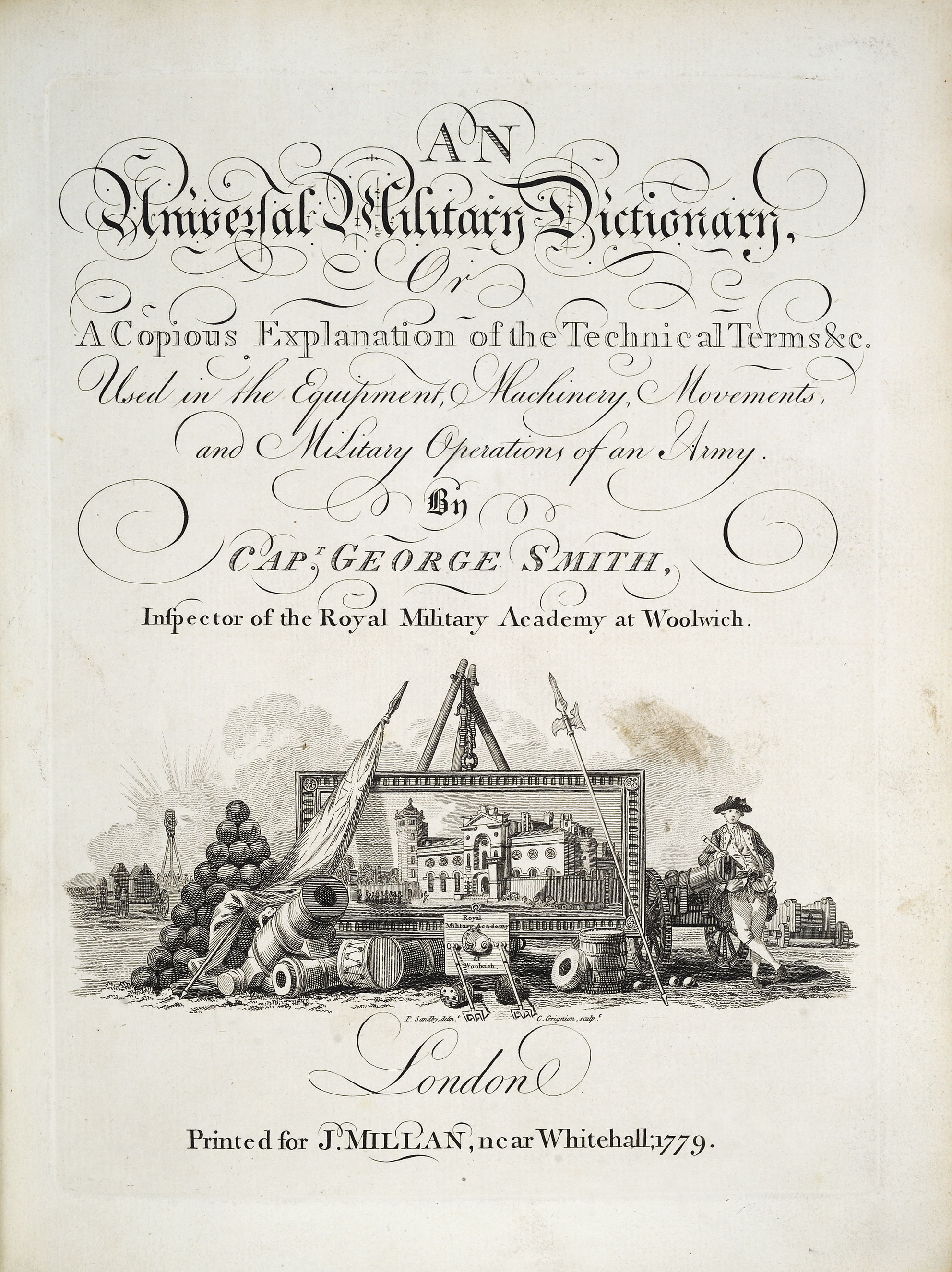 An Universal Military Dictionary by George Smith, 1779