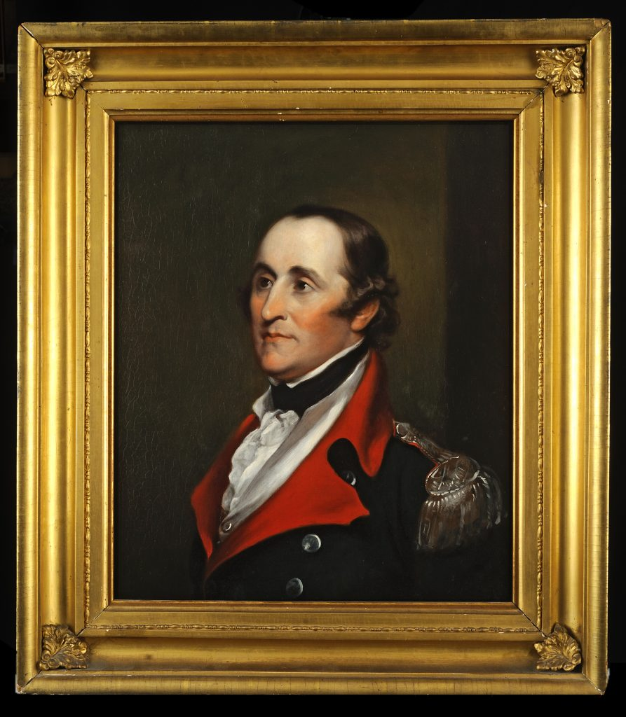 Ebenezer Huntington portrait by John Trumbull, ca. 1835