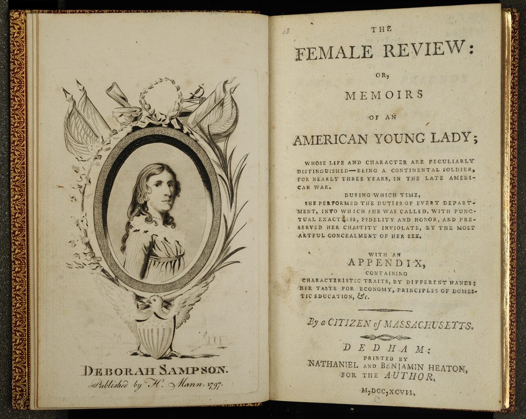 The Female Review: Or, Memoirs of an American Young Lady, 1797