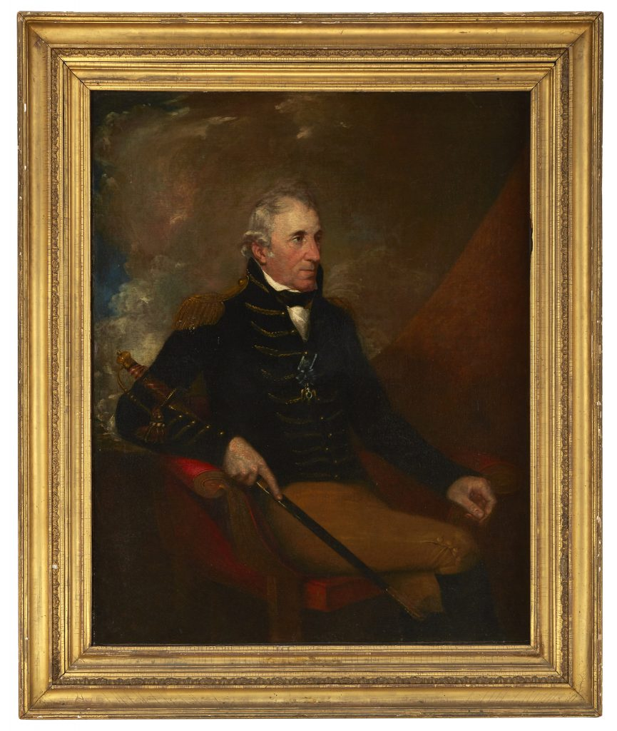 This portrait of Thomas Pinckney by Samuel F.B. Morse is now a part of the museum collectons of the American Revolution Institute.