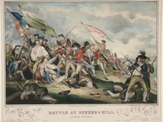 7 Battle at Bunkers Hill, 1842?