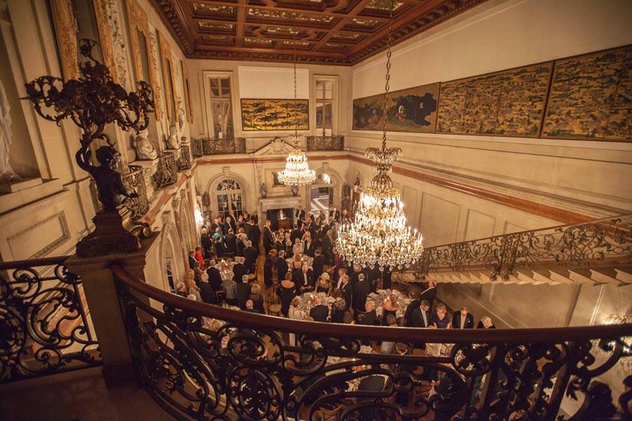 Dinner begins in the Ballroom. Photo by Philip Gerlach.
