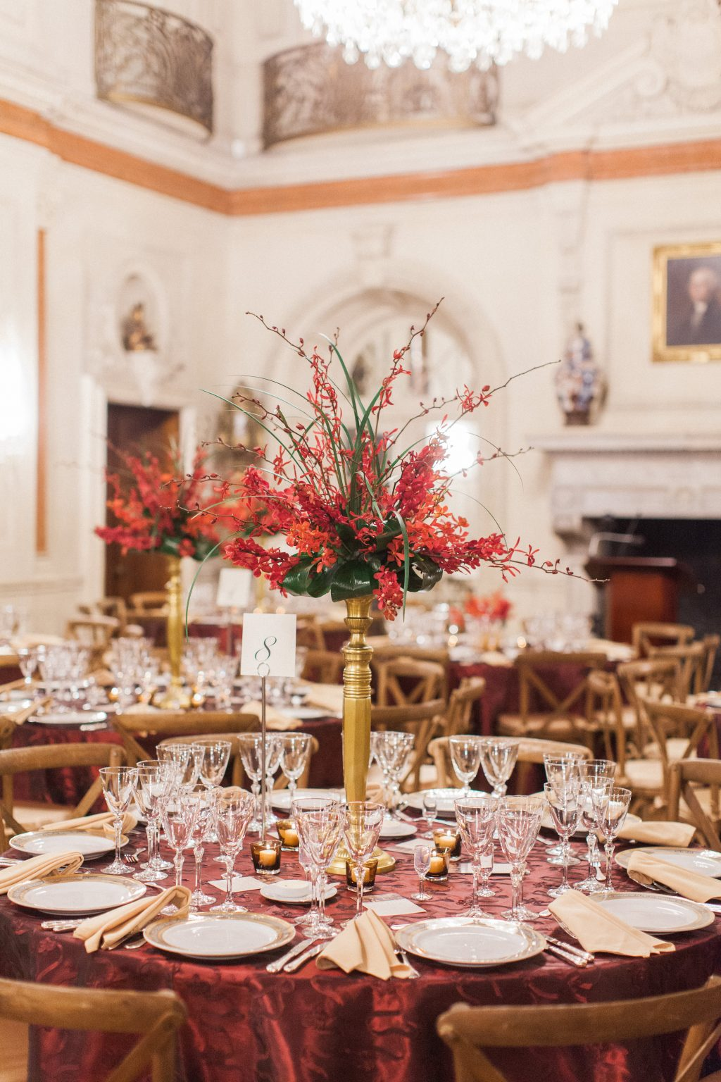 Dinner in the Ballroom. Photo by Jeremy Chou.