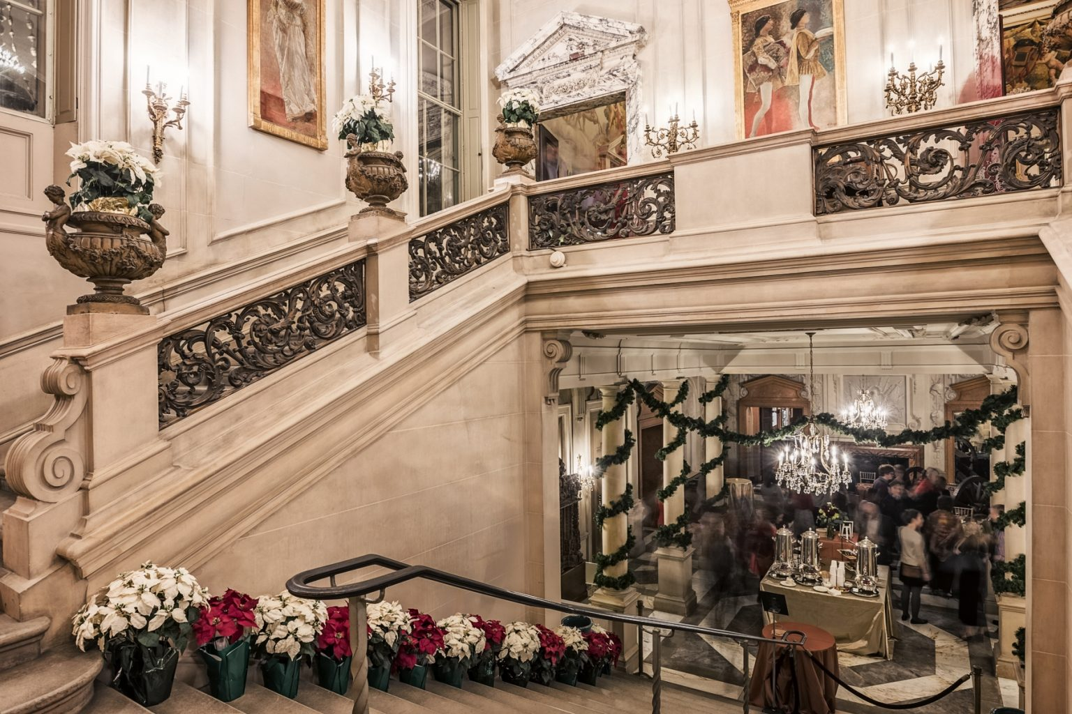 h2>Holiday reception in Great Stair Hall</h2>