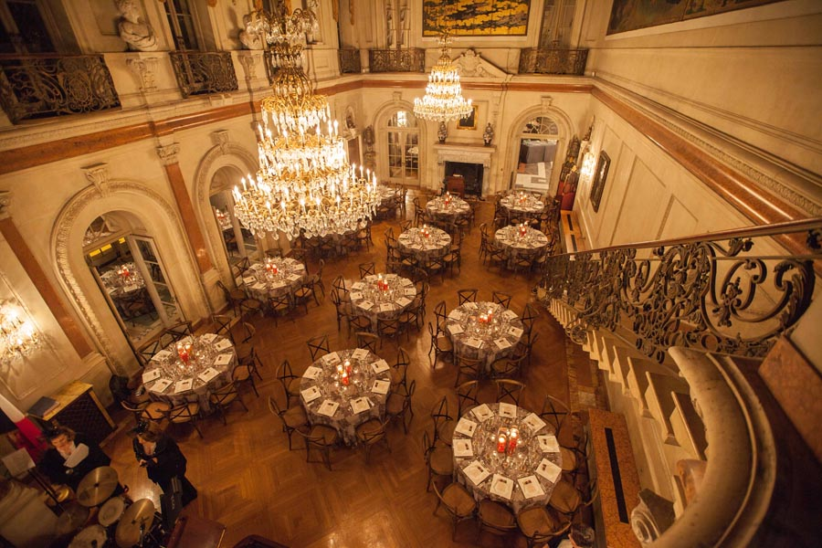 Seating for 120 in the Ballroom. Photo by Philip Gerlach.