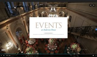 This video explores Anderson House, which is available for site rentals for special events.