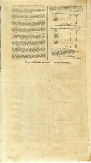 Edinburgh Evening Courant Extraordinary, 7 July 1780.