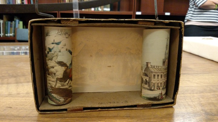 """""""The Historiscope: A Panorama & History of America"""" by Milton Bradley & Co., ca. 1860-1890"""