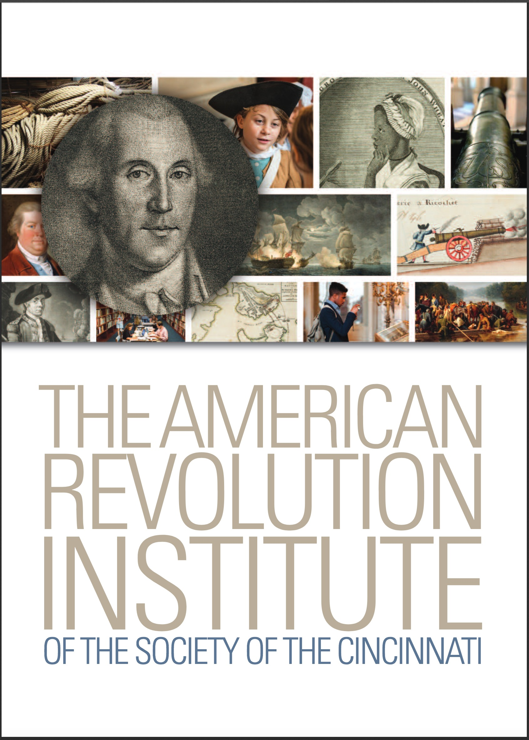 This is the cover of the overview of the American Revolution Institute, available here as our electronic publications.