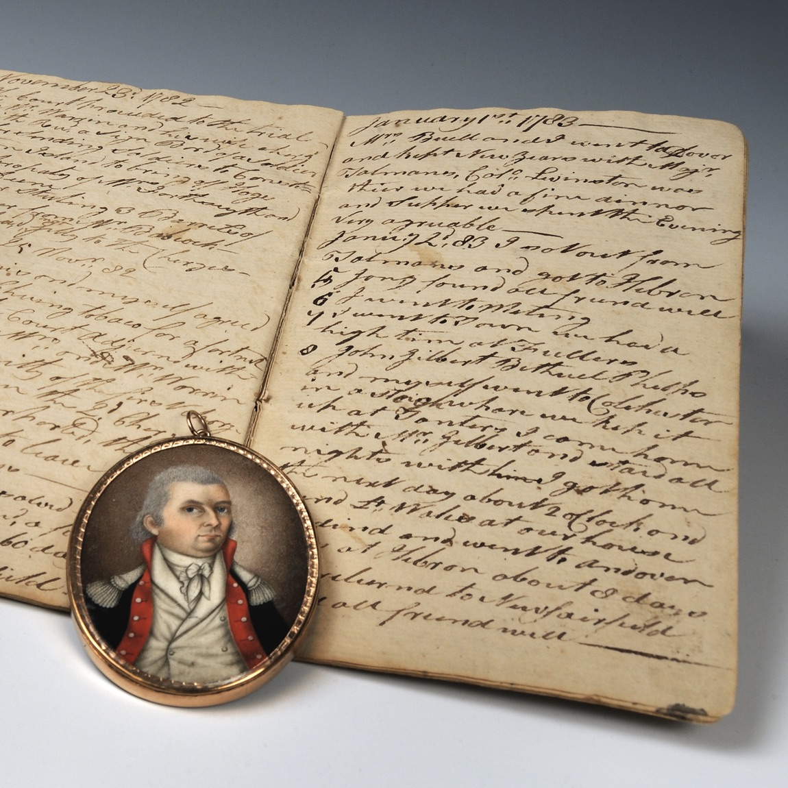 The diary of a Revolutionary War officer is among the primary source documents students are called on to interpret in the Revolution on Paper lessons.
