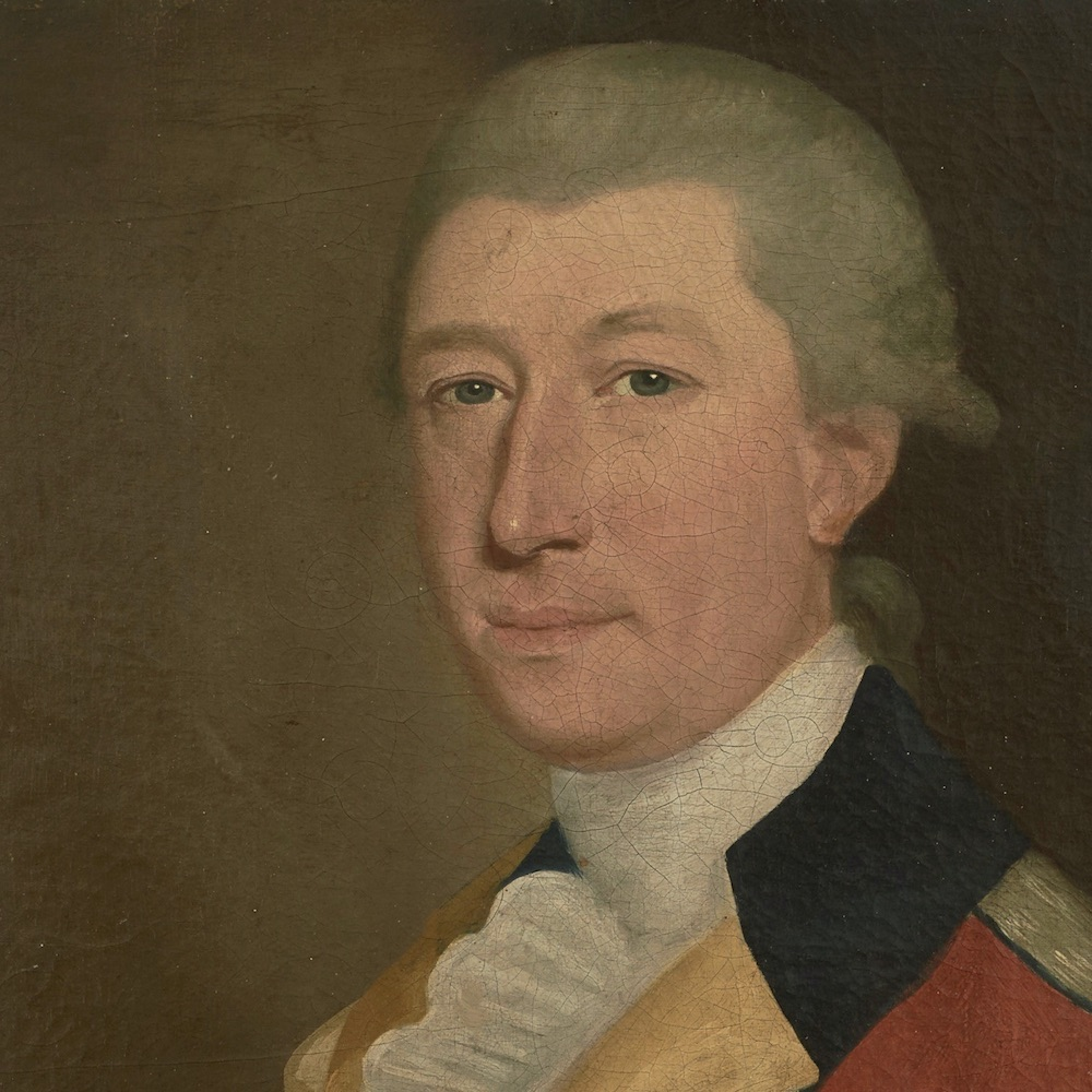 James DeLancey, a New York LoyaliJames DeLancey, a Loyalist officer, is seen here in uniform in a portrait painted in New York City during the Revolutionary War.