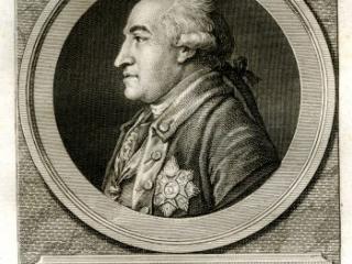 Engraving of General Steuben
