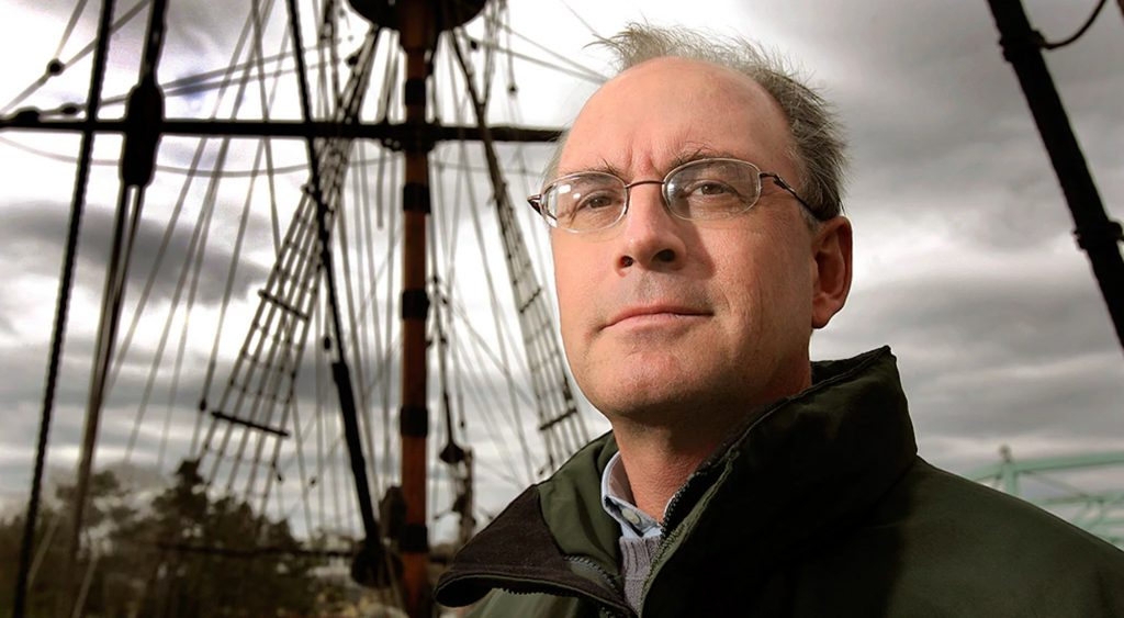 Nathaniel Philbrick presents a lecture about the Battle of Bunker Hill at the Boston Athenaeum.