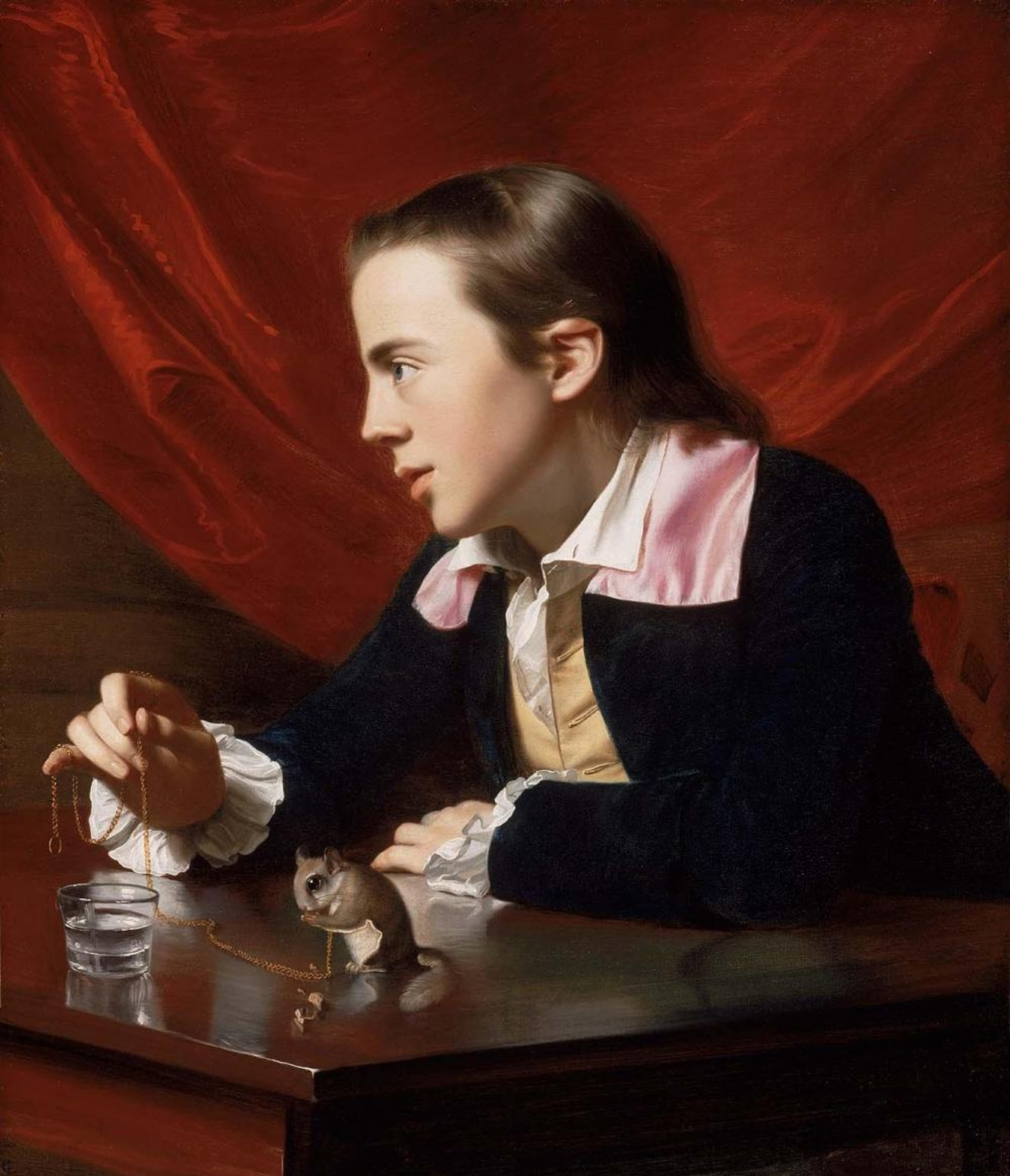 John Singleton Copley painted this portrait of his half brother, Henry Pelham, who later created the most important image of the Boston Massacre.