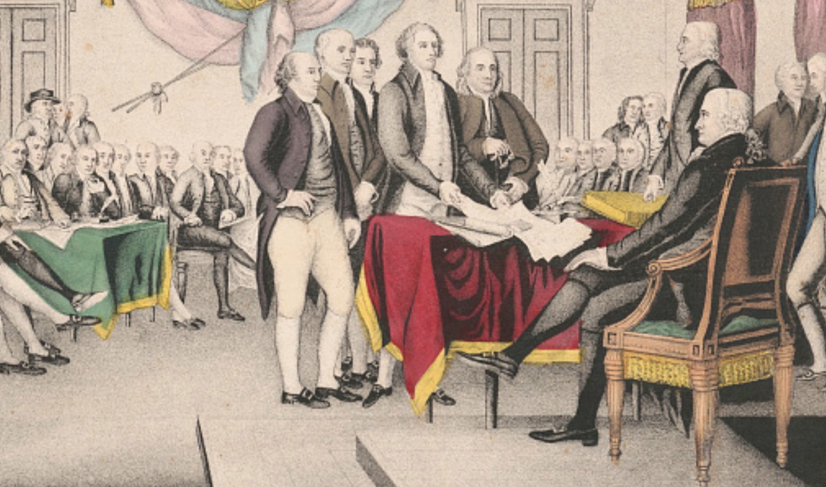 The Declaration of Independence is a symbol of our Professional Development program