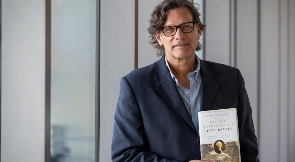 Robert P. Watson, author of George Washington's Final Battle, discusses his new book at Washington's role in the creation of the District of Columbia.